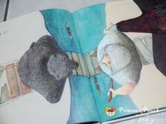一定要誰讓誰嗎? (DIE BRUECKE) by Heinz Janisch / Helga Bansch (Illustrator): 改編自耳熟能詳的白羊黑羊過橋的故事... 解法只有一種嗎? 大家一起來集思廣益吧~!!