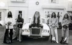 Father Yod and the boy The Source Family Band practiced every morning at 3AM. Together they recorded more than 60 limited-pressing records of psychedelic rock chants and prayers. Photo Courtesy of Isis Aquarian Archives