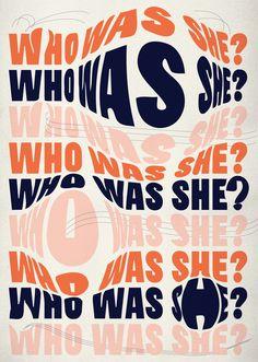 Who Was She? Poster