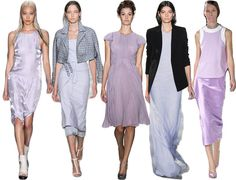 New York Fashion Week S/S '14 trends round-up from Yahoo Shopping's Fashionate blog.
