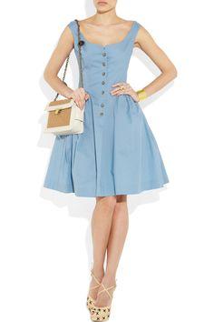 VIVIENNE WESTWOOD ANGLOMANIA  Pannier cotton dress  $490