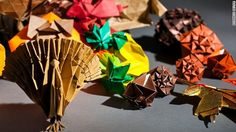 """MIT geeks + Thanksgiving = spectacular origami designs"" -- Click through to see more of these spectacular folded designs."