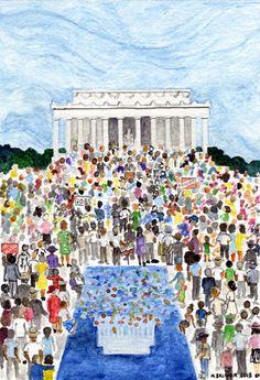 March on Washington, 1963-2013 (Mary Belcher)