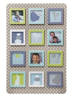 idea to put up pictures in lil d's room