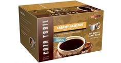 Amazon: Caza Trail Coffee Creamy Hazelnut 100-Single Serve Cups $26.24 (26¢ Per Cup) - https://couponsdowork.com/amazon-deals/amazon-caza-trail-coffee-creamy-hazelnut-100-single-serve-cups-26-24-26%c2%a2-per-cup/