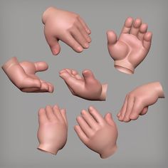Chubby hand #wip #zbrush 3d Model Character, Character Modeling, Character Art, 3d Modeling, Animation Character, 3d Animation, Character Concept, Hand Reference, Anatomy Reference