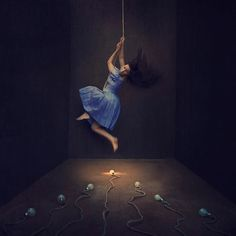 running scared - Amazing Photography by Brooke Shaden Photography Career, Fine Art Photography, Amazing Photography, Fantasy Photography, Contemporary Photography, Surreal Photos, Surreal Art, Pretty Pictures, Cool Photos