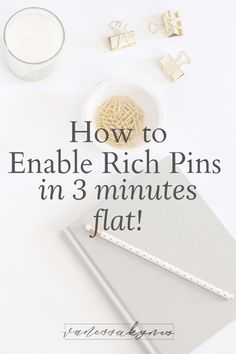 How to enable rich pins in three minutes flat - Vanessa Kynes Marketing Tools, Content Marketing, Online Marketing, Digital Marketing, Marketing Strategies, Media Marketing, Business Marketing, Mobile Marketing, Marketing Plan