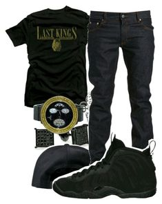 A menswear look from February 2016 featuring low rise jeans, tee-shirt and cap hats. Browse and shop related looks. Young Black Mens Fashion, Teen Boy Fashion, King Fashion, Tomboy Fashion, Fashion Fashion, Fashion Outfits, Fashion Menswear, Fashion Quotes, Swag Outfits Men