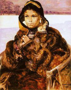 """Ellenai"" by Jacek Malczewski"