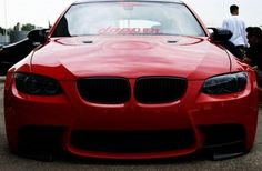 There are maybe the fans / fans of this brand? ^^ #car #moto #red #bmw