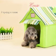 High Quality Comfortable Dog Bed Warm Cabana Pet Beds Cats Dogs House Lit Chien Decoration Hondenmand Animal Products 60Z1250