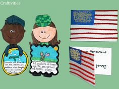 Veterans Day craftivities - from my Veterans Day pack.
