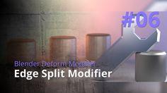 Blender Generate Modifier #06 - Edge Split Modifier