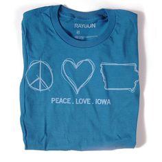 Peace Love Iowa