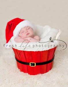 I want to do this with baby Maddox in front of our lit Christmas tree! ❤