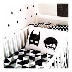 Batboy Pillowcase by White Fox & Co