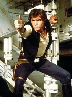 Harrison Ford as 'Han Solo'