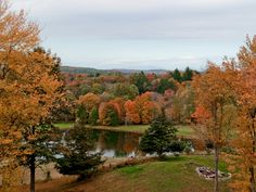 Millbrook New York view of Catskill Mountains, view1