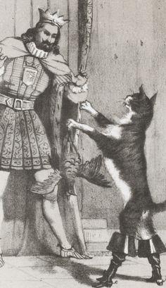 Les contes des fées / par Ch. Perrault ; illustrés de 150 gravures par Johannot, Devéria, Thomas, Célestin Nanteuil, J.-C. Demerville, Gigoux   Gallica