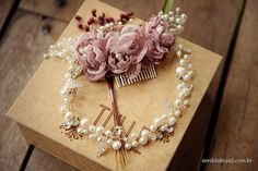 Tulle - Acessórios para noivas e festa. Arranjos, Casquetes, Tiara   ♥ Tatiane Pizzol