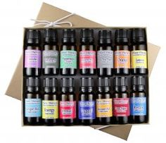 Win a Beginners Essential Oil Kit from Edens Garden Things