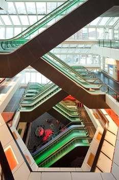 Roltrap bibliotheek Rotterdam
