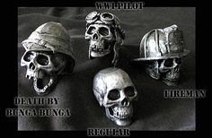 Cast Skull shifters - Want that bottom one, but bedazzled for the Jeep!!