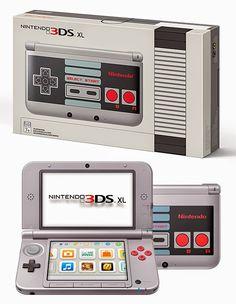 rogeriodemetrio.com: Nintendo 3DS XL Retro NES Edição