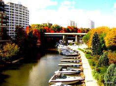 Fall Day in Old Oakville - Old Oakville Autumn Day, Fall, Oakville Ontario, Canada, Autumn