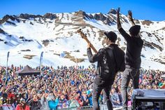 Rock The Pistes, The only high-altitude music festival. In March, join us on the spectacular ski slopes of the Portes du Soleil.