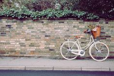 Bella in Chalk by BEG Bicycles. A classic dutch bicycle from Beg Bicycles #bicycles #dutchbicycles