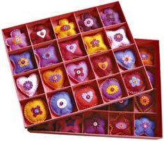 scatola con regalini