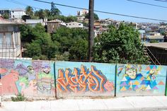 Colorful Street Art, Valparaiso, Chile by Shay Davidson