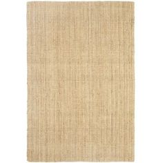 Have we got a rug for jute. Our hand-woven rug is comfy underfoot and visually appealing from any angle, thanks to a boucle technique, where two fibers are twisted together at unequal tensions, to create a bunched, or popcorn, effect. Natural, durable, adorable and definitely a-floorable.