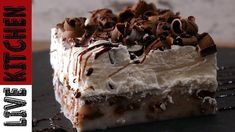 Visit the post for more. Desserts With Biscuits, Kai, Pudding Cake, How Sweet Eats, Greek Recipes, Nutella, Deserts, Food And Drink, Ice Cream