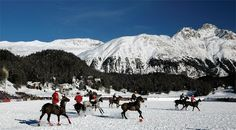 St Moritz Polo World Cup on Snow
