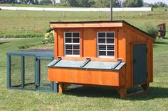 8023-14 - 4x6 Hen House Lean-To Coop for 12 Chickens - IN-STOCK