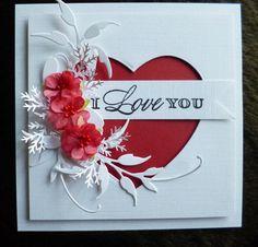 Valentines day handmade card idea 4