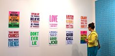 Susan O'Malley's Community Advice, at Adobe Backroom Gallery in the Mission