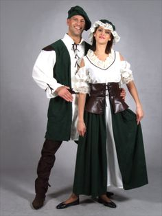 medieval peasant costume idea for women | FANCY DRESS COSTUME * MEDIEVAL PEASANT FARMERS WIFE LG