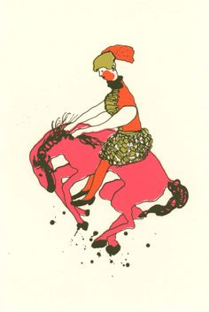 girl on bucking pony