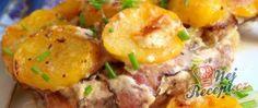 Utajená krkovice (tajemství pro chlapy) Bologna, Baked Potato, Potato Salad, Potatoes, Baking, Ethnic Recipes, Food, Bread Making, Patisserie