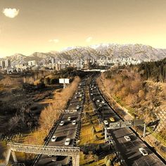 #tehran#iran#city#winter#تهران
