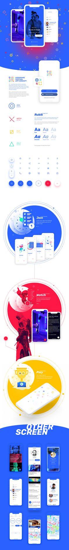 "Vedi il mio progetto @Behance: ""Videogame Festival - App Concept"" https://www.behance.net/gallery/4606709/Videogame-Festival-App-Concept"
