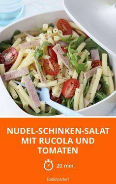 Nudel-Schinken-Salat mit Rucola und Tomaten - smarter - Zeit: 20 Min. | eatsmarter.de