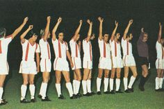 FKS Stal Mielec of Poland team line up in Retro Football, Lineup, Poland, 1970s, Dresses, Fashion, Gowns, Moda, Fashion Styles