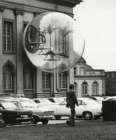 Haus-Rucker-Co, Oase Nr. 7 (Oasis No. installation at Documenta Kassel, Germany, Photo: Carl Eberth/©documenta Archives Art Et Architecture, Art Moderne, Retro Futurism, To Infinity And Beyond, Public Art, Installation Art, Oeuvre D'art, Les Oeuvres, Sculpture Art
