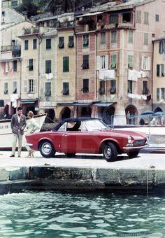 1967 Fiat 124 Sport Spider in Portofino   Credit: Centro Storico Fiat