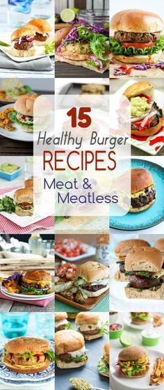 The food lovers fat loss system 21 day metabolism makeover book these 15 healthy burger recipes offer up amazing flavor in both meat and meatless options fire up the grill forumfinder Gallery